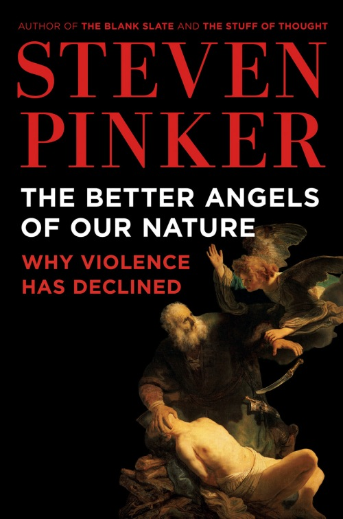 Better Angels. Cover boek Pinker.  2016